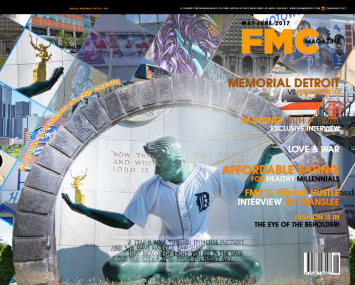 FMC, MAGAZINE, COVER, ART, DETROIT, MOTOWN,