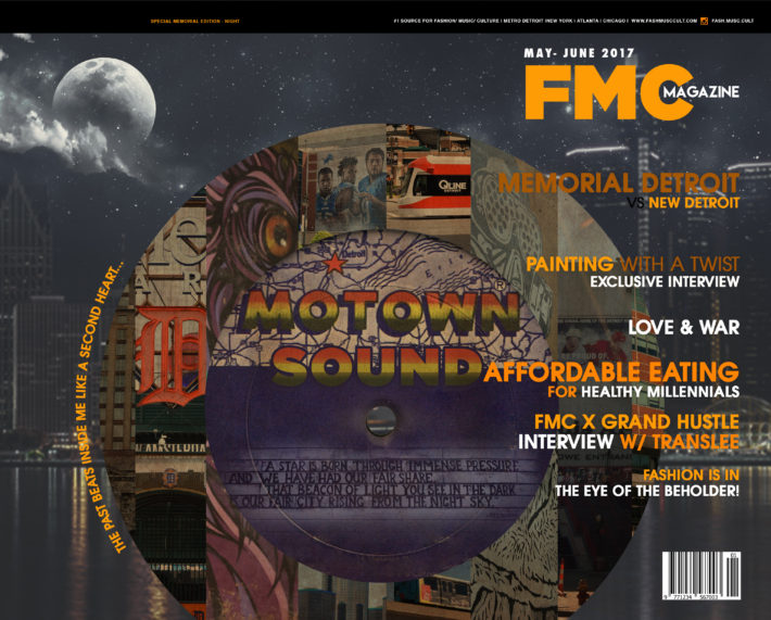 FMC, MAGAZINE, COVER, ART, MOTOWN, DETROIT